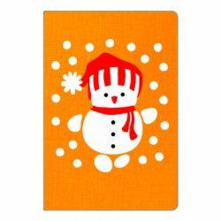 Блокнот А5 Снеговик в шапке - FatLine