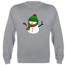 Реглан (свитшот) Снеговик