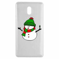 Чехол для Nokia 3 Снеговик - FatLine