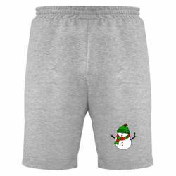 Мужские шорты Снеговик - FatLine
