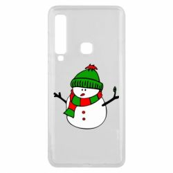 Чехол для Samsung A9 2018 Снеговик