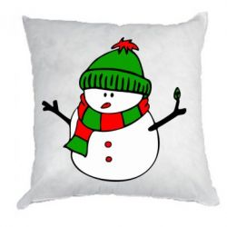 Подушка Снеговик - FatLine