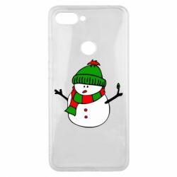 Чехол для Xiaomi Mi8 Lite Снеговик