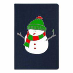 Блокнот А5 Снеговик