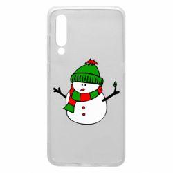 Чехол для Xiaomi Mi9 Снеговик