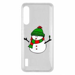 Чохол для Xiaomi Mi A3 Снеговик