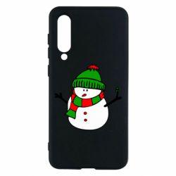 Чехол для Xiaomi Mi9 SE Снеговик
