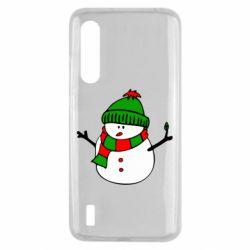 Чехол для Xiaomi Mi9 Lite Снеговик