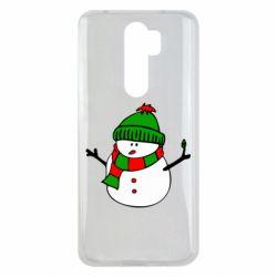 Чехол для Xiaomi Redmi Note 8 Pro Снеговик