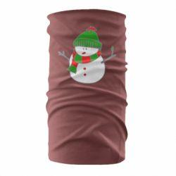 Бандана-труба Снеговик