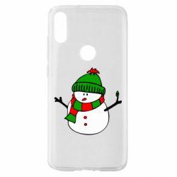Чехол для Xiaomi Mi Play Снеговик