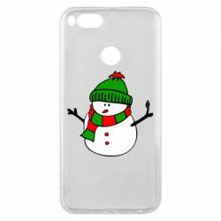 Чехол для Xiaomi Mi A1 Снеговик