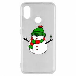 Чехол для Xiaomi Mi8 Снеговик