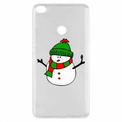 Чехол для Xiaomi Mi Max 2 Снеговик