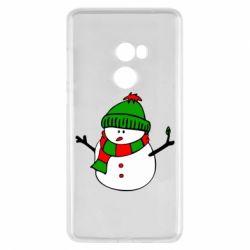 Чехол для Xiaomi Mi Mix 2 Снеговик