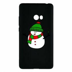 Чехол для Xiaomi Mi Note 2 Снеговик