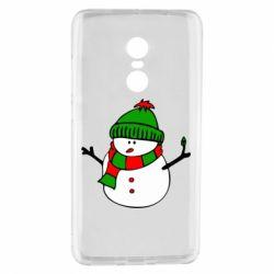 Чехол для Xiaomi Redmi Note 4 Снеговик