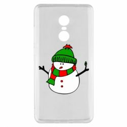 Чехол для Xiaomi Redmi Note 4x Снеговик