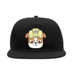 Снепбек Dog in helmet