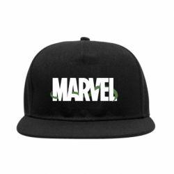 Снепбек Marvel logo and vine