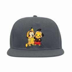 Снепбек Mickey and Pikachu