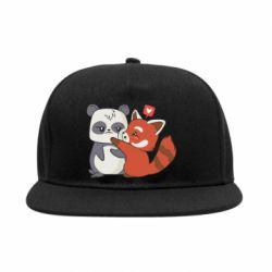 Снепбек Panda and fire panda