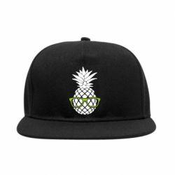 Снепбек Pineapple with glasses