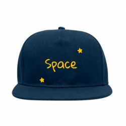 Снепбек Space: Letters and Stars Print
