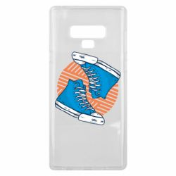 Чехол для Samsung Note 9 Snickers shoes
