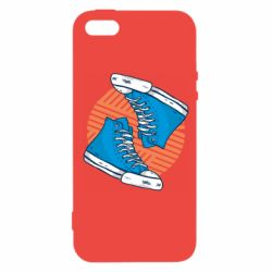 Чехол для iPhone5/5S/SE Snickers shoes