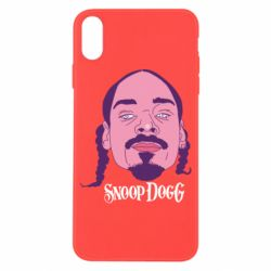 Чехол для iPhone X Snoop Dogg - FatLine
