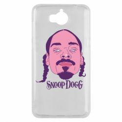 Чехол для Huawei Y5 2017 Snoop Dogg - FatLine