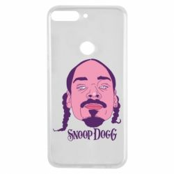 Чехол для Huawei Y7 Prime 2018 Snoop Dogg - FatLine