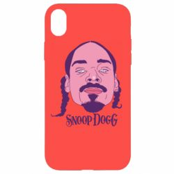 Чехол для iPhone XR Snoop Dogg