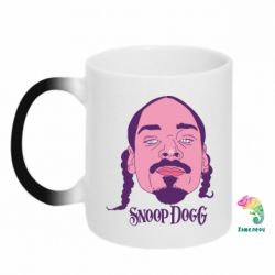 Кружка-хамелеон Snoop Dogg - FatLine