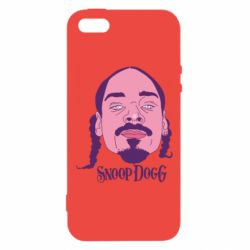 Чехол для iPhone5/5S/SE Snoop Dogg - FatLine