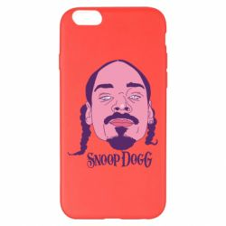 Чехол для iPhone 6 Plus/6S Plus Snoop Dogg - FatLine