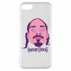Чехол для iPhone 8 Snoop Dogg - FatLine