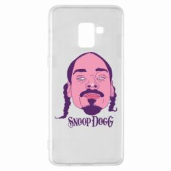 Чехол для Samsung A8+ 2018 Snoop Dogg