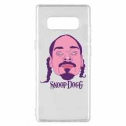 Чехол для Samsung Note 8 Snoop Dogg - FatLine