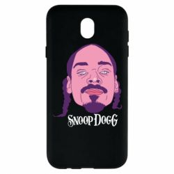Чехол для Samsung J7 2017 Snoop Dogg