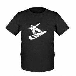 Детская футболка Snow Board - FatLine