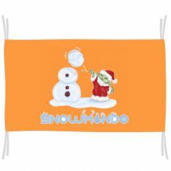 Флаг Snowmando