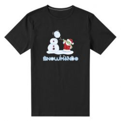 Мужская стрейчевая футболка Snowmando