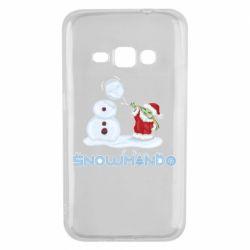 Чехол для Samsung J1 2016 Snowmando