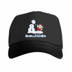 Кепка-тракер Snowmando