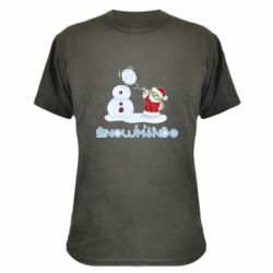 Камуфляжная футболка Snowmando