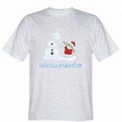 Мужская футболка Snowmando