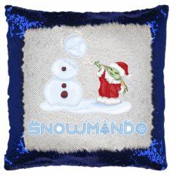 Подушка-хамелеон Snowmando