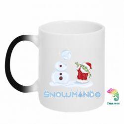 Кружка-хамелеон Snowmando